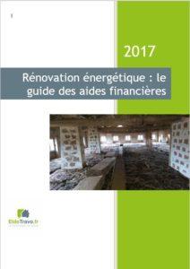 guide aides travaux 2017