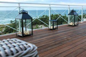 Terrasse lames composites