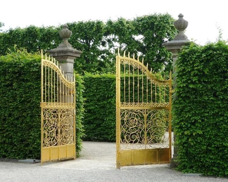 L'aménagement du jardin et le choix pour un portail sécurisé