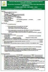 formulaire facture eco PTZ