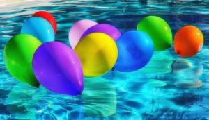 Ballons piscine