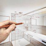 dessin salle de bain