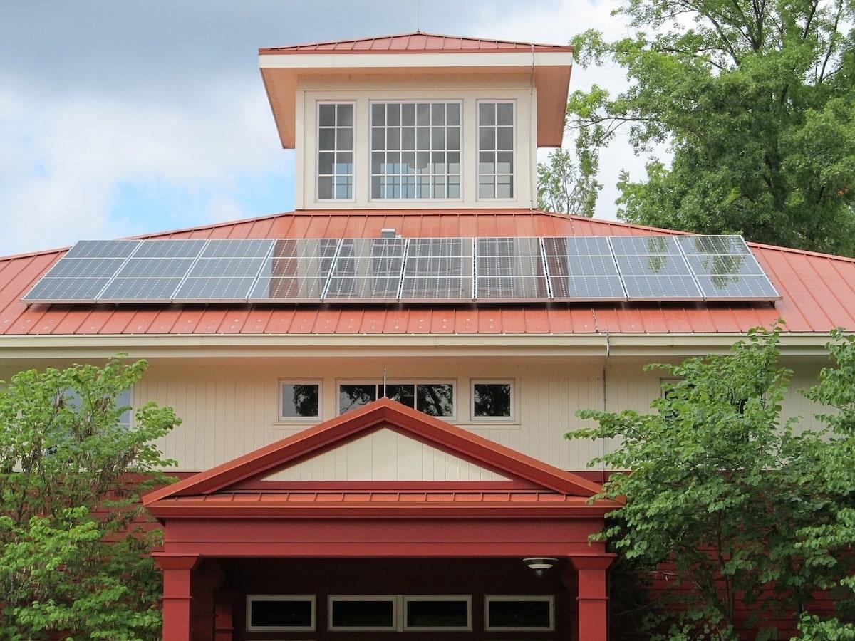 panneau photovoltaïque maison